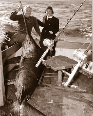 Old time Swordfishing