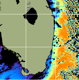 surface water temp chart
